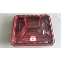 纯PP材质可微波一次性餐盒
