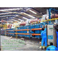 150米节能燃气式大型双层辊道窑【一窑就是二窑产量】