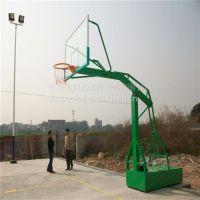 白云区社区标准比赛型篮球架安装、白云体育场移动篮球架、绿色现货