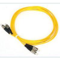直供耐斯龙3米FC型室内双芯多模光纤跳线 阻燃跳线 可定制