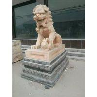 石狮子,大石代雕塑,欧式石狮子