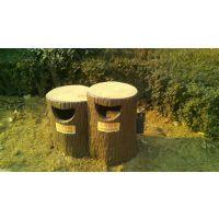 郑州天艺批发洛阳新安地区仿树皮果皮箱(单筒)水泥产品(含喷漆)