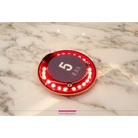 韩国Nokyou品牌GENI Finder智能定位送餐系统震动铃/圆盘式双向呼叫器/排队呼客牌