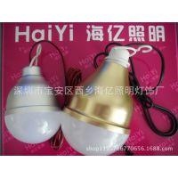 LED12V12W低压灯泡 直流12VLED球泡灯 12W超亮夜市地摊灯带夹线