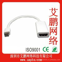 Mini DisplayPort to HDMI F  MINI DP转HDMI母 MINI DP连接线