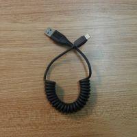 苹果数据线 /iphone6数据线1-5米弹簧可拉长iphone5数据线MFI认证