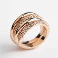高外贸配饰 戒指女 可拆卸 两种佩戴方法 明星同款 小饰品批发