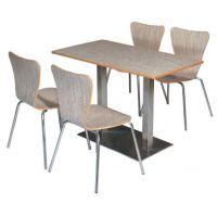 郴州茶餐厅桌椅,快餐店桌椅,防火板快餐桌椅
