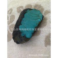 【厂家直销】 天然湖北竹山县绿松石原石
