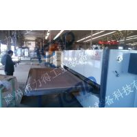 山东口碑的滕州力得钢木门木纹转印机