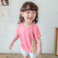 T336 2015柠檬嘟嘟女童夏装女童可爱打底衫宝宝上衣儿童短袖棉T恤