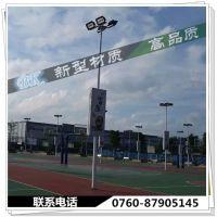 揭东县Q235管加镀锌灯杆 小区篮球场照明灯杆厂家