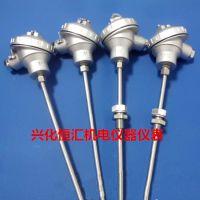 铠装热电偶 WRNK-131/231/331 K E J N T 双支 4芯铠装 非标定制
