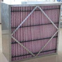 厂家供应太原空气过滤器 晋城有隔板中效率过滤器 超耐高温过滤器