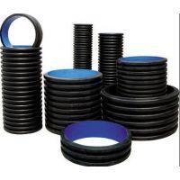 供兰州HDPE塑钢缠绕管和甘肃钢带缠绕管生产商