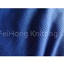 100% Polyester Weft Knitted Waffle Weave Fabric For Cloth 150CM Width
