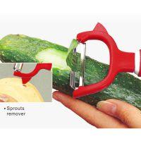 供应达盛水果削皮刀刨刀多功能苹果削皮器不锈钢刮皮刀厨房用品土豆去皮