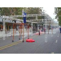 天津桁架背景板展位舞台搭建天津东方恒盛会展设备租赁公司