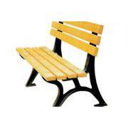 供应邢台昌顺园林公园座椅平凳塑木防腐木休闲椅品种齐全质量有保障