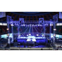 广州铝合金桁架舞台架子truss架雷亚架铝合金灯光架婚庆龙门架背景架