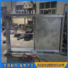 一次风母管电动挡板门,百叶窗式调节方风门,齐鑫用于锅炉烟道