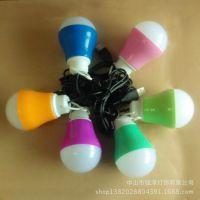 厂家热销 低压球泡 USB接口 迷你小球泡 移动电源球泡