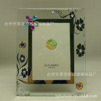 玻璃相框 影楼相架宜家相框7寸创意双层欧式玻璃照片相框批发
