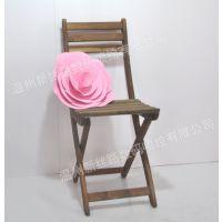 优质复古道具椅子 大型木质工艺品橱窗布置道具 木质椅子拍摄道具