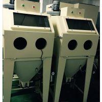 百涛6050手动喷砂机 锈蚀层 焊接件表面喷砂处理