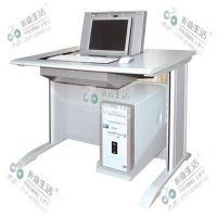 翻转电脑桌 优质钢木结合翻桌 简约型摩登腿多功能电脑桌 应中科技-折叠生活