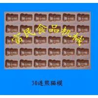 36连熊猫鸡蛋糕模具 动物不粘蛋糕模具 卡通鸡蛋糕磨具 烘焙商用