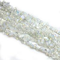 天然蛋白石半成品 散珠 90cm碎石 天然水晶散珠  半成品批发