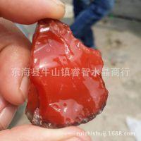 天然非洲莫桑比克 南红玛瑙原石 一手货源大量批发 进口南红