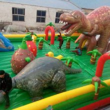 濮阳儿童大型充气玩具多少钱一个?大型充气恐龙滑梯蹦蹦床20-12