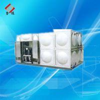 专业制造加工生活消防供水设备不锈钢箱泵一体水箱
