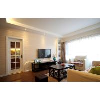 珠江花园-105平米三房两厅-美式风格-株洲帝豪装饰公司