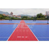 广州绿城_篮球场拼装地板_悬浮式篮球场拼装地板