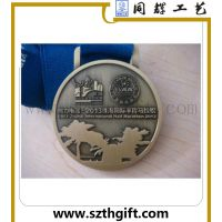 运动会纪念奖牌定做 锌合金压铸珠海马拉松奖牌可来图稿定做 同辉