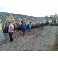 贝尔克钢波纹管涵 圆形金属波纹涵管 国家标准