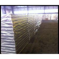 建筑物常用保温材料 龙飒柔性屋面立纤维玻璃棉板包铝箔