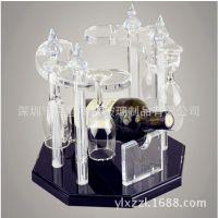 供应亚克和红酒架 亚克力透明名酒陈列架 有机玻璃制品 厂家直销