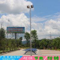 南平户外灯杆柱子图片 球场高杆灯用多大尺寸标准8米球场专用灯杆厂家