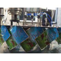 豆浆自立袋灌装旋盖机 全自动自立袋灌装机 自立袋包装机