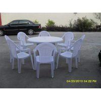 供应销售户外用1.2米圆桌批发 双龙聚丙烯圆桌 方桌 长桌批发
