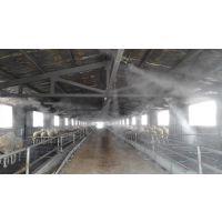 养殖舍自动喷雾降温、消毒、除臭设备,米孚圈舍消毒设备