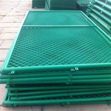 学校铁丝围网 操场隔离网 美观护栏