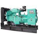 Low Fuel 150kva 120kw Diesel Generator Set , Genset Diesel Generator With With Cummins Engine
