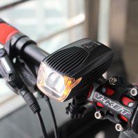 魅蓝X1自行车智能前灯头灯 USB充电夜骑带日行灯 山地车骑行装备