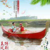 楚风木船厂家专业制造贡多拉船出售水城贡多拉游船装饰木船