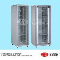 厂家直销 提供钢化玻璃机柜 42U安防监控服务器机柜 网络集成工程